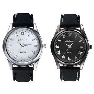 Simple Fashion Roman Scale Round Case Men's Cigarette Lighter Watch Wrist Watch
