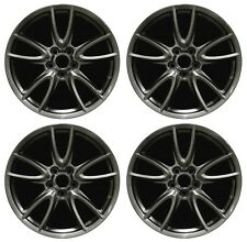 "19"" Ford Mustang 2011 2012 2013 2014 Factory OEM Rim Wheel 3862 Hyper Full Set"