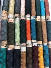 Silk Gutermann Sewing Thread 30 Spools Some Used Most New VERY ANTIQUE