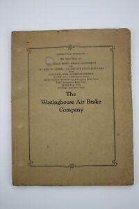 Westinghouse Air Brake Company Instruction Pamphlet No. 5064, Sup.30, 1945 Large