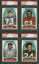 1972 TOPPS #4 SET STAUBACH WRIGHT NAMATH WILLARD YARY PSA 8 9 10 (351) AVG 9.03
