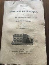 Michel Faraday 1832 Électricité Gay Lussac Arago Atome Beffroi de Rouen Garance