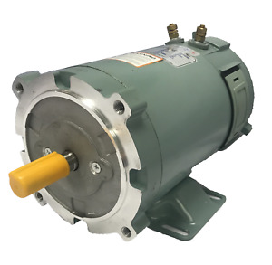 1 HP DC Motor 1800RPM 12V 80A 56C Frame TEFC Permanent Magnet Electric Motor