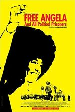 Affiche Pliée 120x160cm FREE ANGELA  2013 Documentaire Lynch, Angela Davis TB