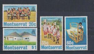 MONSERRAT 1974 25th Anniversary of the University of the West Indies Set LMM