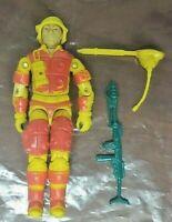 Vintage GI JOE 1984 Blowtorch V1 Action Figure ARAH Authentic Original Cobra