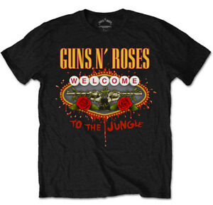 Guns N' Roses 'Welcome to the Jungle' T-Shirt - NEW & OFFICIAL!