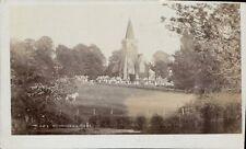 Twyford near Winchester. Church & Hill.