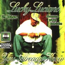 LUCKY LUCIANO-YOU ALREADY KNOW(EX) CD NEW