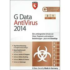 Antivirus- & Sicherheits-Softwares G Data als CD