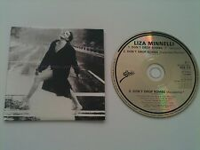Liza Minnelli / Pet Shop Boys - DON´T DROP BOMBS (3 Mixes) - Maxi CD © 1989 card