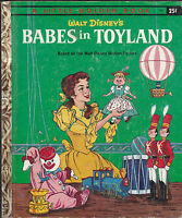 Walt Disney's Babes in Toyland Little Golden Book D97 (3rd print)