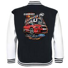 Ford Mustang Shelby GT 500 Baseball Varsity Jacket American Cobra V8 Muscle Car