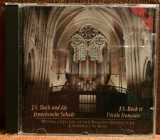 CD Orgel Marchand Dandrieu Grigny Raison Bach Leclerc Richard 1734/1774 IV/48 NM