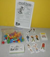 Disney Channel Monopoly Junior Edition Replacement Game Parts w/ Sealed money