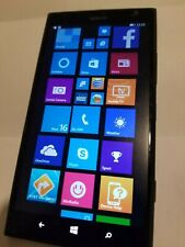 Nokia Lumia 1520 BLACK UNLOCKED Windows 8 LTE 16GB 20MP 6 Screen Smartphone FAIR