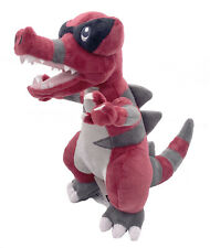 Krookodile Intimidation Pokemon Waruvial Plush Toy Dragon Stuffed Animal 11""