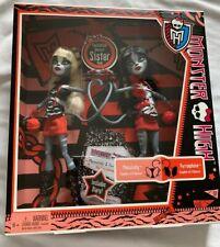 Monster High School Meowlody Purrsephone Werecat Cat 2 Doll Set Diary First Wave
