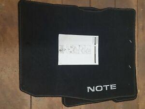 Fits Nissan Note Tailored Velour Front & Rear Carpet Floor Mats - KE7553VV11
