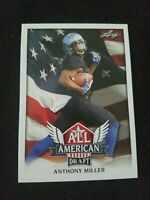 C2 Anthony Miller 2018 Leaf Draft Football All American Insert Rookies RC