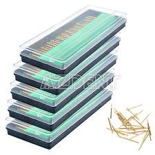 5 Kits Dental Diamond Burs Titanium Coated F Micro Motor & Straight Nosecone IT