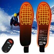 New listing Winter Usb Electric Heated Shoe Insoles Pads Feet Heater Foot Warmer Men Women