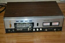 Realistic TR 882 8 Track Recorder Powers On Functions