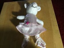 """Angelina Ballerina Classic Ballet Mouse Plush Soft Toy Doll 8"""" Rare 2004"""