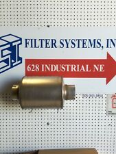 """Donaldson M090362 4"""" Inlet & Outlet Resonator"""