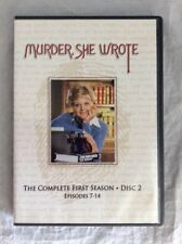 Murder She Wrote, first season Disc2 episode7-14