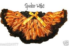 NEW Halloween Pettiskirt  6-9 yrs spider print ORANGE MEDIUM