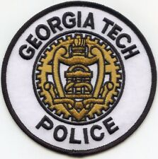 GEORGIA GA TECH UNIVERSITY Atlanta Georgia Georgia Tech CAMPUS POLICE PATCH