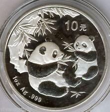 Cina 10 Yuan 2006 ORSO PANDA  @ 1 oncia argento puro @