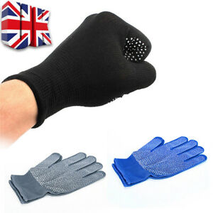 Pair Heat Resistant Protective Gloves For Hair Straightener Curling Tongs Wand T