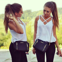 Fashion Women Summer Vest Top Sleeveless Shirts Blouse Casual Tank Tops T-Shirt