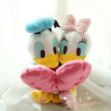 Disney Donald Duck& Daisy Duck Hug With Red Heart Plush Toy Valentine's Day Gift