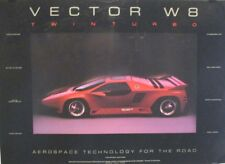 Vector W8 Twin Turbo | Photo by Shirley Studios | Orig. Designer Car Poster