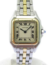 CARTIER PANTHERE IN STAHL /GOLD - DAMENMODELL