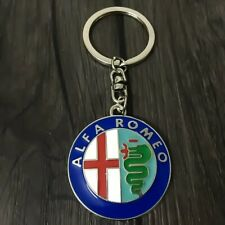 Alfa Romeo Italian Luxury stylish keychain Free Shipping Usa Seller