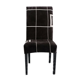 Modern Floral Print Chair Covers for Home Living Room Seat Protective Cover