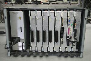 Inter-Tel AXXESS PBX Cabinet w/ DKSC, DKSC16, SLC, T1/E1, EVMC, CPU64 827-9145
