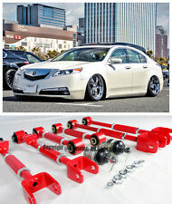 For 08-13 Accord 09-13 TL TSX Front Ball Joint Rear Camber Control Arm Toe Kit