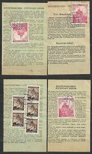 Bohemia and Moravia, german occupation WWII, Saving recepts
