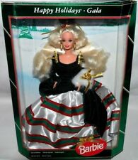 NEW-1994 HOLIDAY SPECIAL EDITION BARBIE DOLL -HAPPY HOLIDAYS GALA- INTERNATIONAL