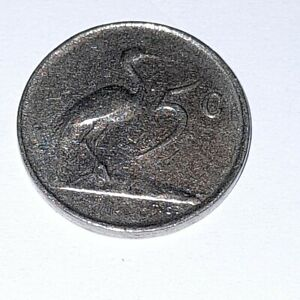 1965 5 Cents SOUTH Africa