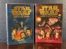 Star Wars HEIR TO EMPIRE Volume 1 DARK FORCE RISING Book 2 Trilogy HC Zahn 1991