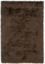 8' Round Chandra Rug  Celecot Hand-woven Contemporary Shag  Wool & Polyester CEL