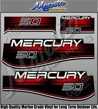 MERCURY 50hp - OUTBOARD DECALS