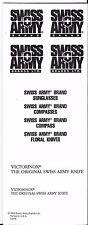 VICTORINOX SWISS ARMY 1993 LINE ART CATALOG  RARE NEW COLLECTIBLE