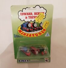 Thomas The Tank & Friends ERTL MINIATURES DIECAST EDWARD BERTIE AND TREVOR NEW